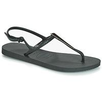 Schuhe Damen Sandalen / Sandaletten Havaianas FREEDOM MAXI Schwarz