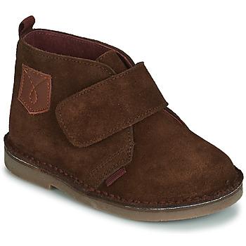 Schuhe Jungen Boots André SCRATCH Braun