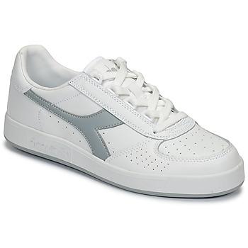 Schuhe Sneaker Low Diadora B ELITE Weiss / Grau