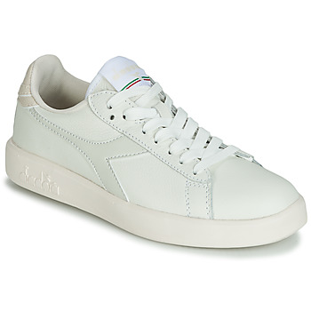 Schuhe Damen Sneaker Low Diadora GAME WIDE Naturfarben / Grau