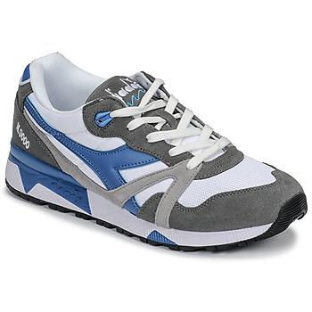 Schuhe Herren Sneaker Low Diadora N 9000 III Weiss / Grau / Türkis