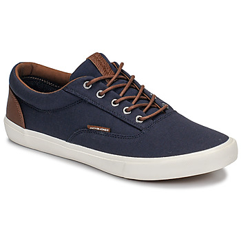 Schuhe Herren Sneaker Low Jack & Jones VISION CLASSIC MIXED Marine