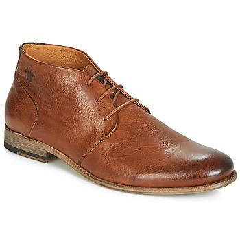Schuhe Herren Boots Kost SARRE 1 Cognac