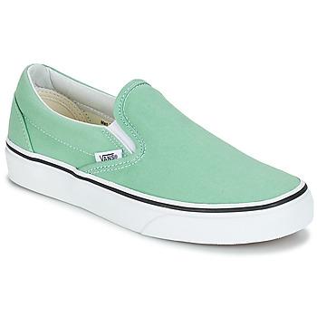 Schuhe Damen Slip on Vans CLASSIC SLIP-ON Grün