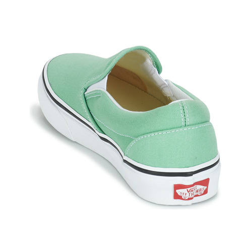 Vans CLASSIC SLIP-ON Grün  Schuhe Slip on on on Damen c01c81