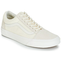 Schuhe Damen Sneaker Low Vans OLD SKOOL Beige