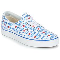 Schuhe Damen Sneaker Low Vans ERA Weiss / Blau