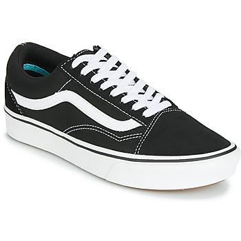 Schuhe Sneaker Low Vans COMFYCUSH OLD SKOOL Schwarz / Weiss