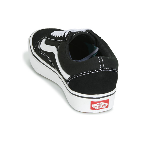 Vans COMFYCUSH OLD SKOOL Schwarz / Weiss Weiss Weiss  Schuhe Sneaker Low b7990b