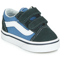 Schuhe Jungen Sneaker Low Vans OLD SKOOL V Marine