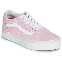 Schuhe Mädchen Sneaker Low Vans OLD SKOOL Rose