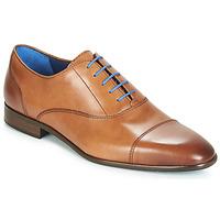 Schuhe Herren Richelieu Azzaro RAELAN Cognac