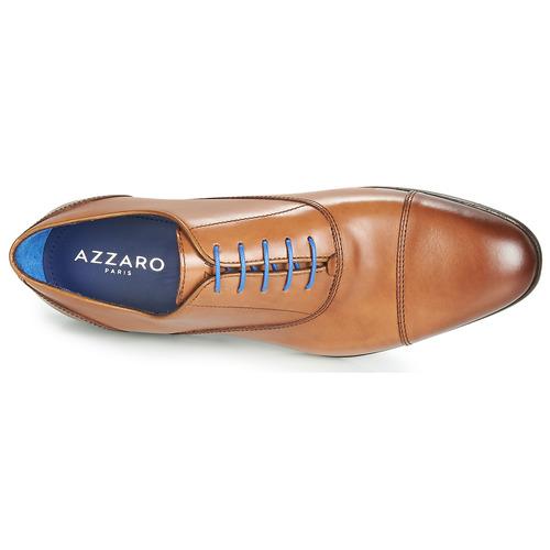 Azzaro Cognac RAELAN Cognac Azzaro  Schuhe Richelieu Herren 39612e