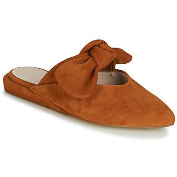 Schuhe Damen Pantoffel Fericelli JILONIE Camel