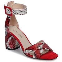 Schuhe Damen Sandalen / Sandaletten Fericelli JEZI Rot