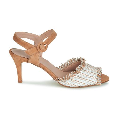 Fericelli JAJILOU Beige    Schuhe Sandalen   Sandaletten Damen 2d12d9