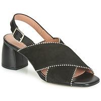 Schuhe Damen Sandalen / Sandaletten Fericelli JARIANI Schwarz