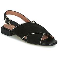 Schuhe Damen Sandalen / Sandaletten Fericelli JANELLE Schwarz