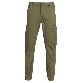 Kleidung Herren Cargo Hosen Jack & Jones JJIPAUL Kaki