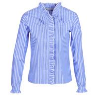 Kleidung Damen Hemden Maison Scotch  Blau