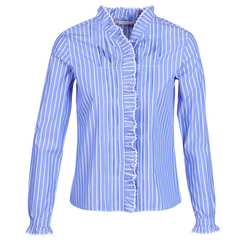 Kleidung Damen Hemden Maison Scotch LONG SLEEVES SHIRT Blau