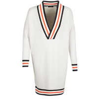 Kleidung Damen Pullover Maison Scotch WHITE LONG SLEEVES Weiss / Creme