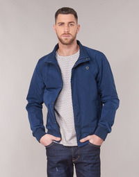 Kleidung Herren Jacken Scotch & Soda AMS BLAUW SIMPLE HARRINGTON JACKET Marine