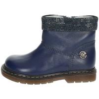 Schuhe Kinder Boots Blumarine C1204 Blau
