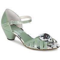 Schuhe Damen Sandalen / Sandaletten Mosquitos AMICALE Grün / Wasserfarben