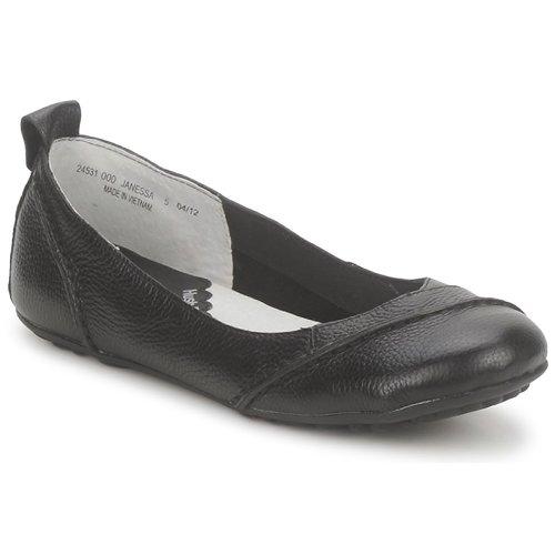 Hush puppies JANESSA Schwarz  Schuhe Ballerinas Damen 59,99