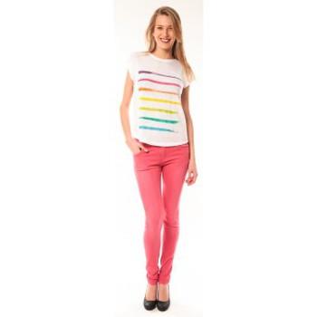 Kleidung Damen T-Shirts Little Marcel T-shirt E15FTSS0122 Tola Blanc Weiss