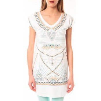 Kleidung Damen T-Shirts Little Marcel Robe E15WDRE0318 Riolo Blanc Weiss