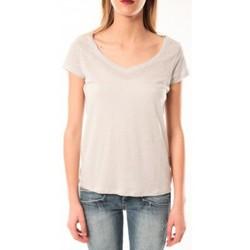 Kleidung Damen T-Shirts Little Marcel T-Shirt Talin E15FTSS0116 Gris Moyen Grau