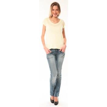 Kleidung Damen T-Shirts Little Marcel T-Shirt Talin E15FTSS0116 Jaune Gelb