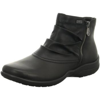 Schuhe Damen Stiefel Rieker Stiefeletten Z7270-00 schwarz