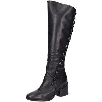 Schuhe Damen Kniestiefel Mimmu Stiefel PKBATY7 schwarz