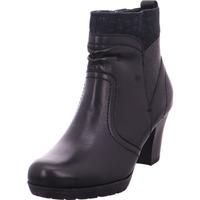 Schuhe Damen Low Boots Jana Da.-Stiefel BLACK