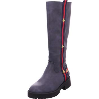 Schuhe Damen Klassische Stiefel Stiefel - 6502301 blau