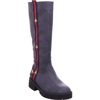 Schuhe Damen Klassische Stiefel Xyxyx - 6502301 blau