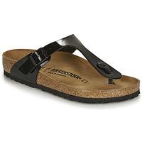 Schuhe Damen Sandalen / Sandaletten Birkenstock Gizeh Schwarz
