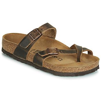 Schuhe Damen Sandalen / Sandaletten Birkenstock MAYARI Braun