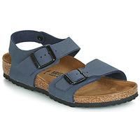 Schuhe Jungen Sandalen / Sandaletten Birkenstock NEW YORK Navy