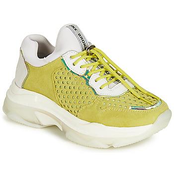 Schuhe Damen Sneaker Low Bronx BAISLEY Gelb