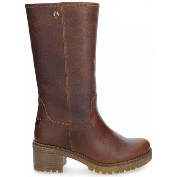 Schuhe Damen Klassische Stiefel Panama Jack PATRICIA B16 Braun