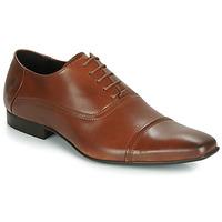 Schuhe Herren Richelieu Carlington ETIPIQ Cognac