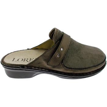 Schuhe Damen Pantoletten / Clogs Calzaturificio Loren LOM2741ta tortora