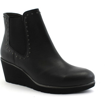 Schuhe Damen Low Boots Melluso MEL-I18-R45107-NE Nero