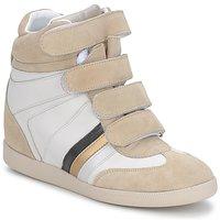 Schuhe Damen Sneaker Low Serafini MANATHAN SCRATCH Weiß / beige / blau