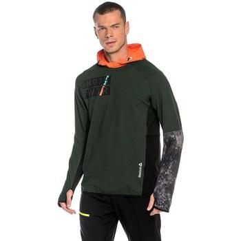 Kleidung Herren Sweatshirts Reebok Sport DT Stretch Oth Z Grün