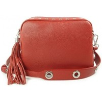 Taschen Damen Umhängetaschen Vera Pelle VP1188R Rot